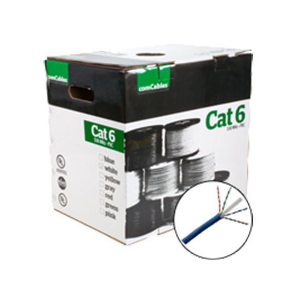 comCABLES Cat 6 550MHz UTP PVC Cable