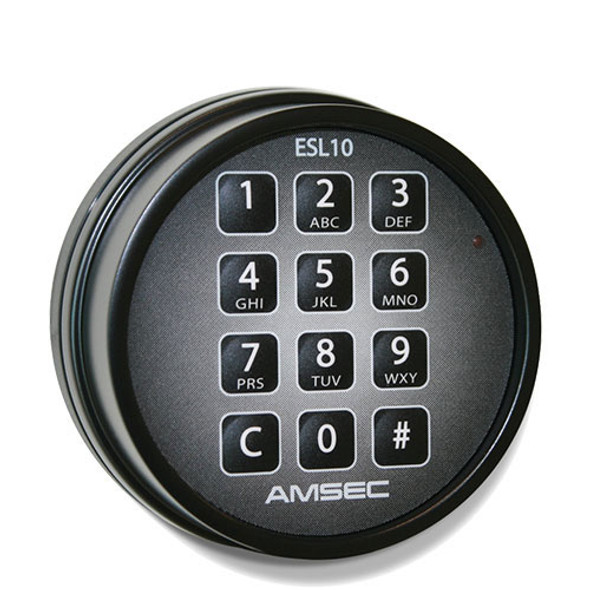 ESL10 Electronic Lock - Black