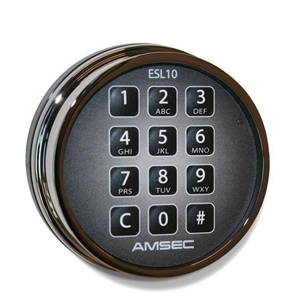 ESL10 Electronic Lock - Black Nickel