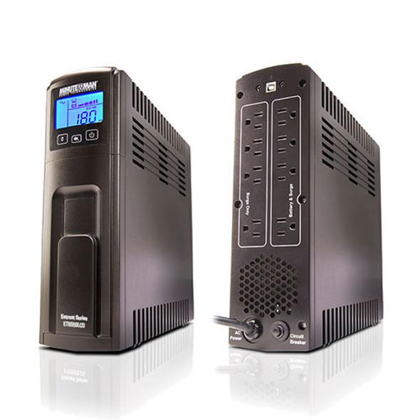Minuteman 700 VA Line Interactive LCD UPS