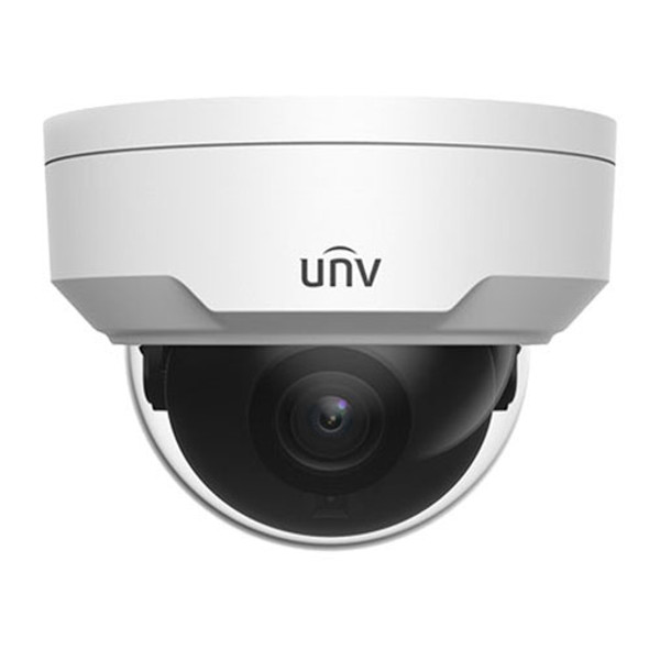 UNV 4K Vandal-resistant Network IR Fixed Dome Camera