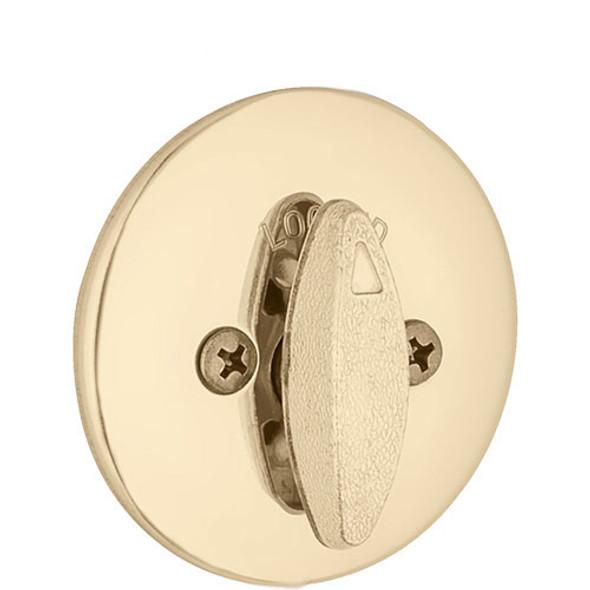 Kwikset Deadbolt & Thumbturn - Polished Brass