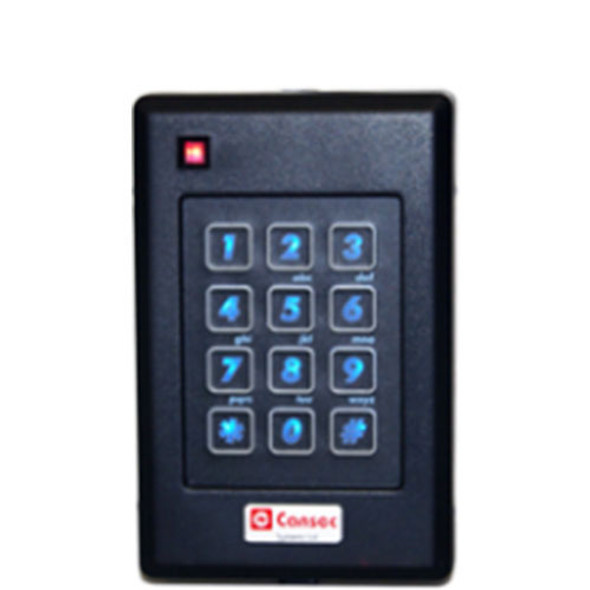 Cansec Single-Gang Mount Keypad Reader
