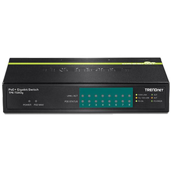 TRENDnet TPE-TG80g 8-Port Gigabit PoE+ Switch