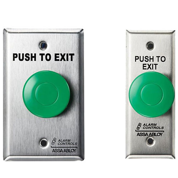 ALARM CONTROLS Alarm Control Pushbutton
