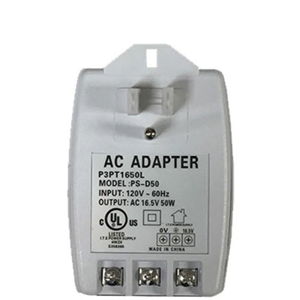 Preferred Power Products 16.5VAC 50VA UL Listed Transformer