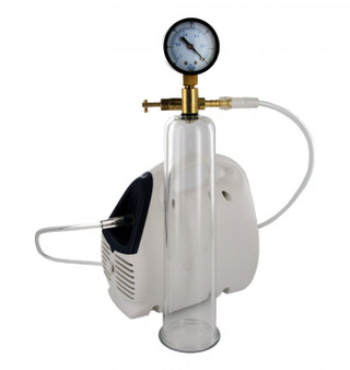 Bionic Electric Pump Kit with glass penis enlarging cylinder.