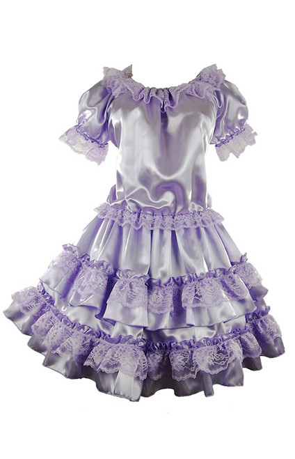 Ruffled Sissy Dress
