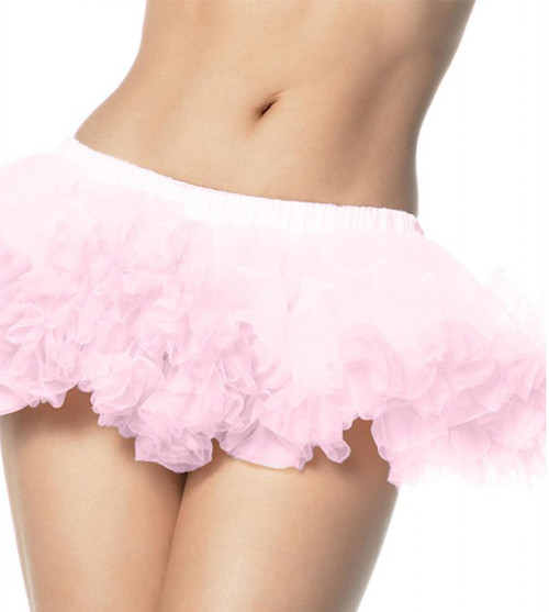 "PUFFY 8"" CHIFFON MINI PETTICOAT"