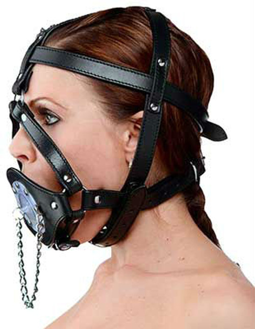 Plug Your Hole Open Mouth Harness
