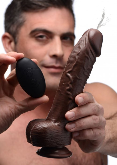 Vibrating Squirting Dildo with Remote Control