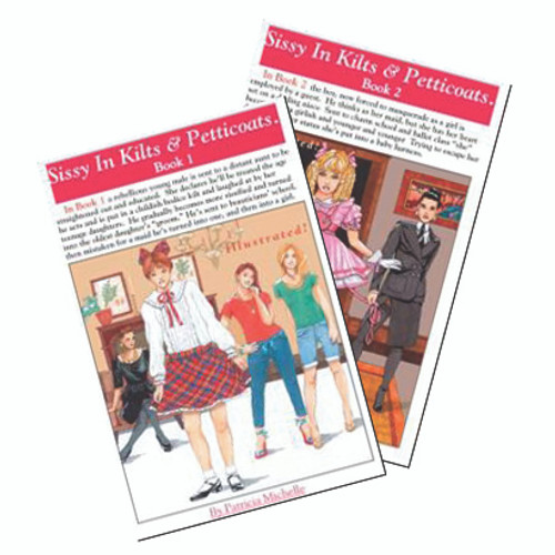 Sissies in Kilts & Petticoats Mini Novel (2 PACK)