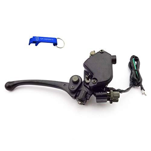 TC-Motor Thumb Throttle Accelerator Brake Lever For 50cc 70cc 90cc 110cc 125cc 150cc 250cc ATV QuadTaotao Sunl Kazuma Peach Roketa Coolster Buyang Coolsport Eagle JCL Peace