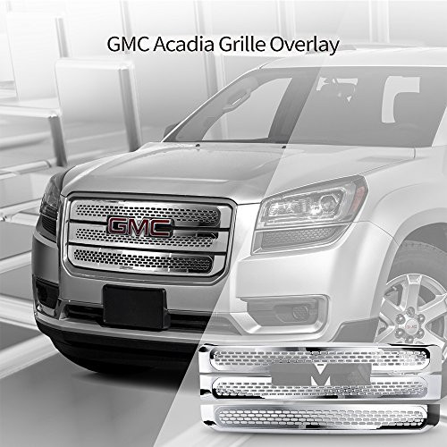 Mesh Style ABS Chrome Front Bumper Hood Grill Protector by IKON MOTORSPORTS Grille Fits 2004-2010 Chrysler 300