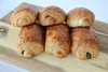 Large French Chocolate Croissant 6 Pieces