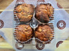 Apple Cinnamon Muffins 4 Pack Packed
