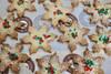 10 Snowflake Cookies