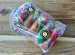 Rainbow Bagels 5 Pack Packed