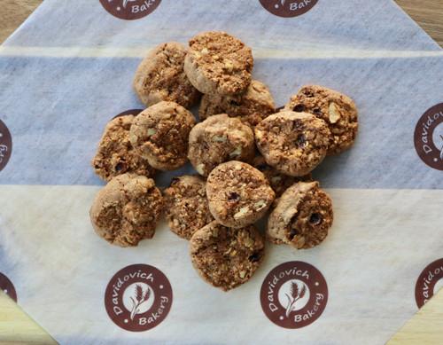 Mini Oatmeal Raisin Cookies