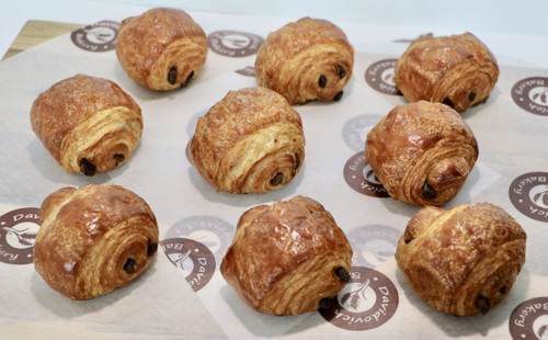 Small French Chocolate Croissant 9 pieces