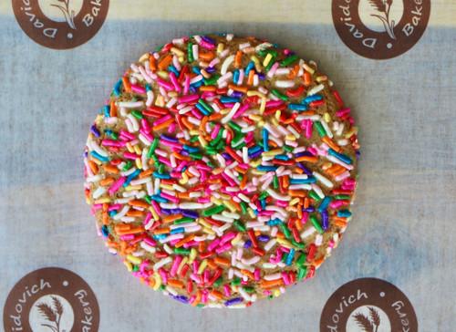 1 Large Rain Sprinkle Cookie