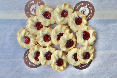 Mini Red Cherry Cookies