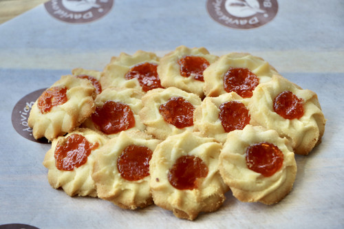 Mini Apricot Cookies