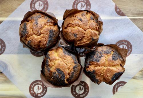 Lemon Poppy Muffins 4 Pack