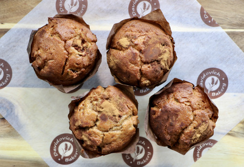 Apple Cinnamon Muffins 4 Pack