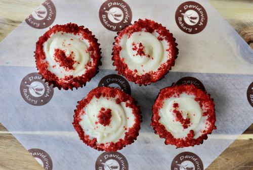 Red Velvet Cupcakes 4 Pack