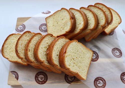 Brioche Sandwich Loaf 1 Inch Thick Sliced