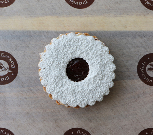1 Big Linzer Tart Cookie