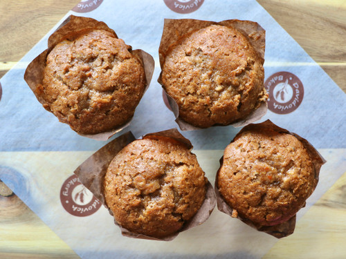 Carrot Nut Muffins 4 pack