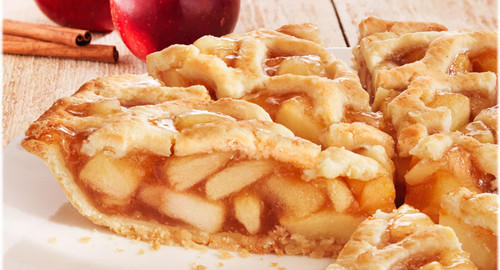 Thanksgiving Apple Crumb Pie 10""