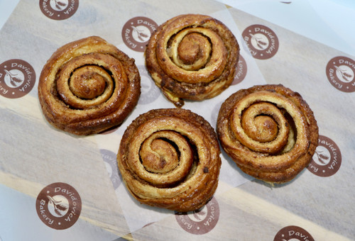 Large Cinnamon Swirl 4 Pack