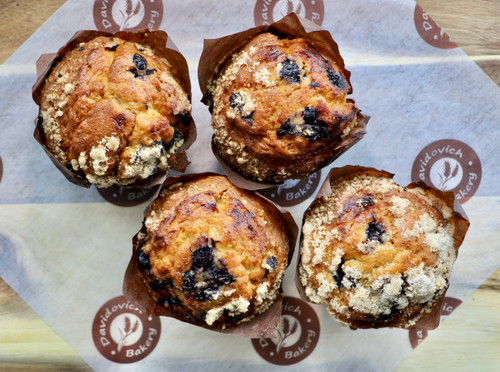 Blueberry Muffins 4 Pack