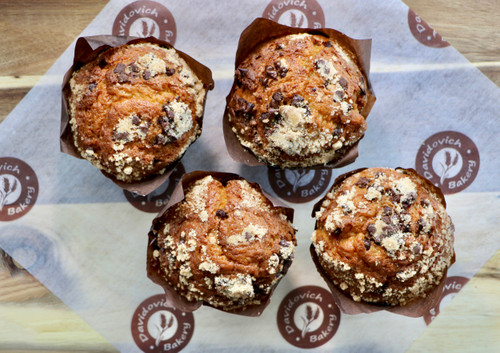 Chocolate Chip  Muffins 4 Pack