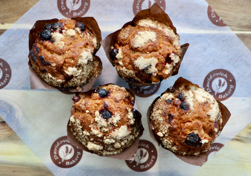 Cranberry Orange Muffins 4 Pack