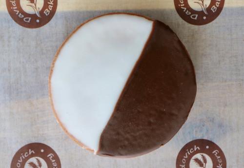 1 Big Black & White Cookie