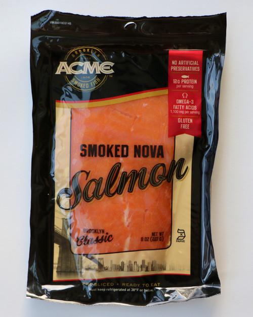 Lox (Smoked Salmon) 8 oz Package