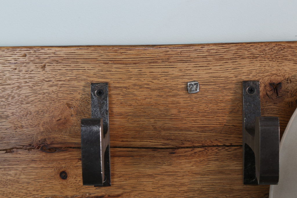 numbered hat and coat rack hand crafted by american artisans in nashville tennessee