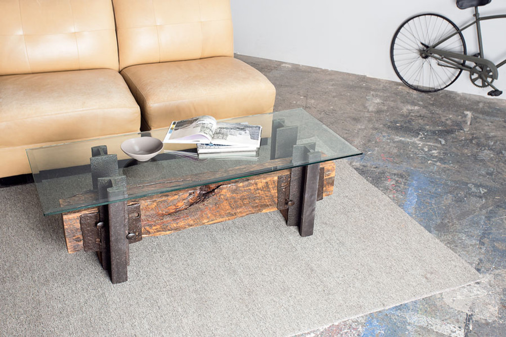 custom artisan hand crafted timber coffee table