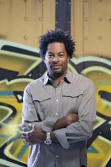 Troy Duff Nashville & Los Angeles street artist with Project Boxcar Original Graffiti on Steel