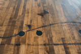 Boxcar flooring tabletop dining table