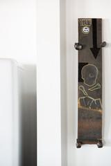 Modern art YME Circle T rail spikes graffiti
