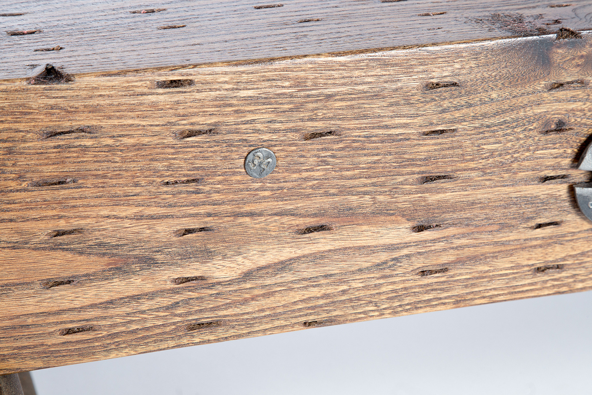 limited number hand crafted leed-certified wood coffee table