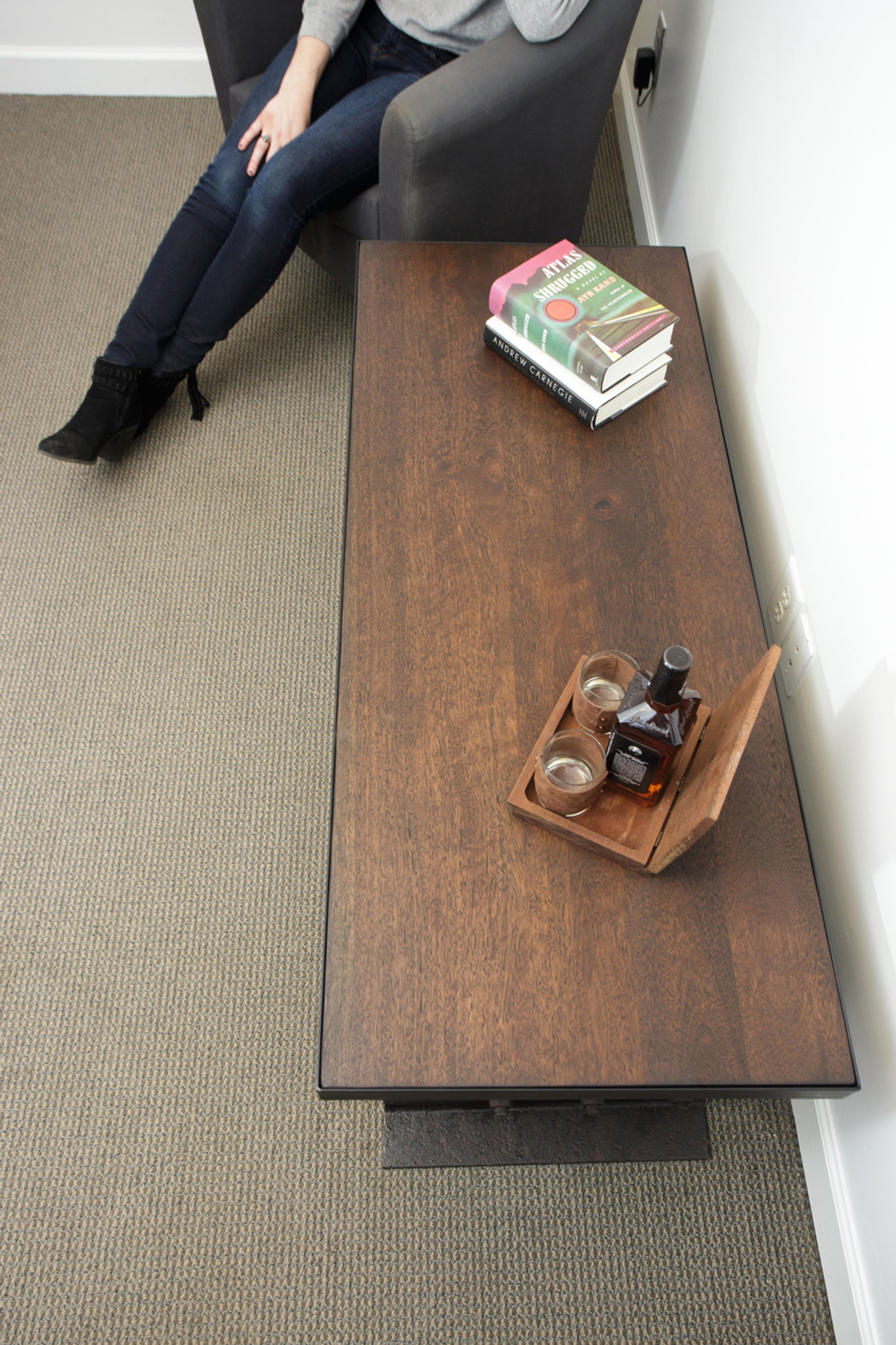 Load Limit Coffee Table