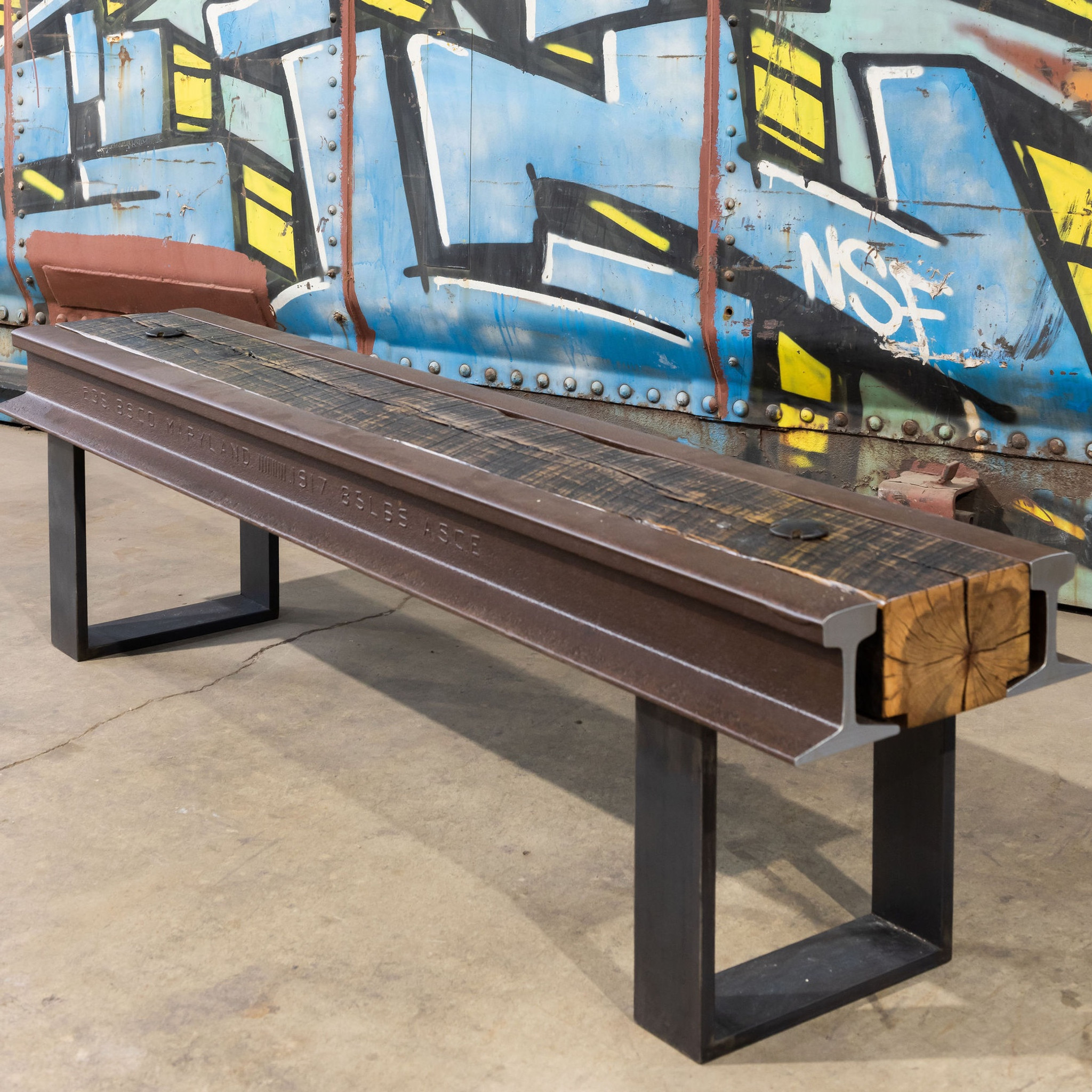 Elevated Bench with Maryland Rail