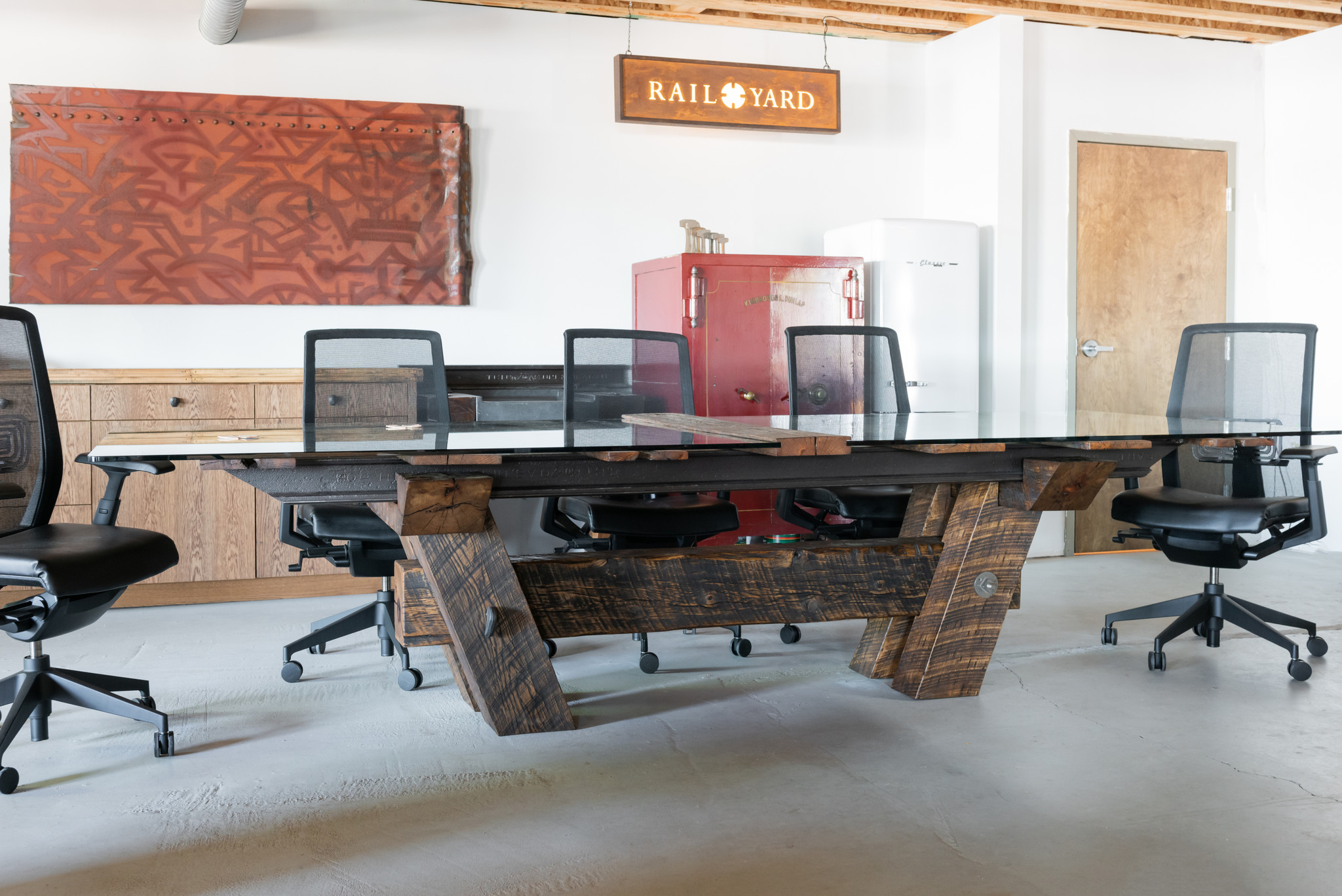 Wrong Side of The Tracks Conference Table Version 2.0