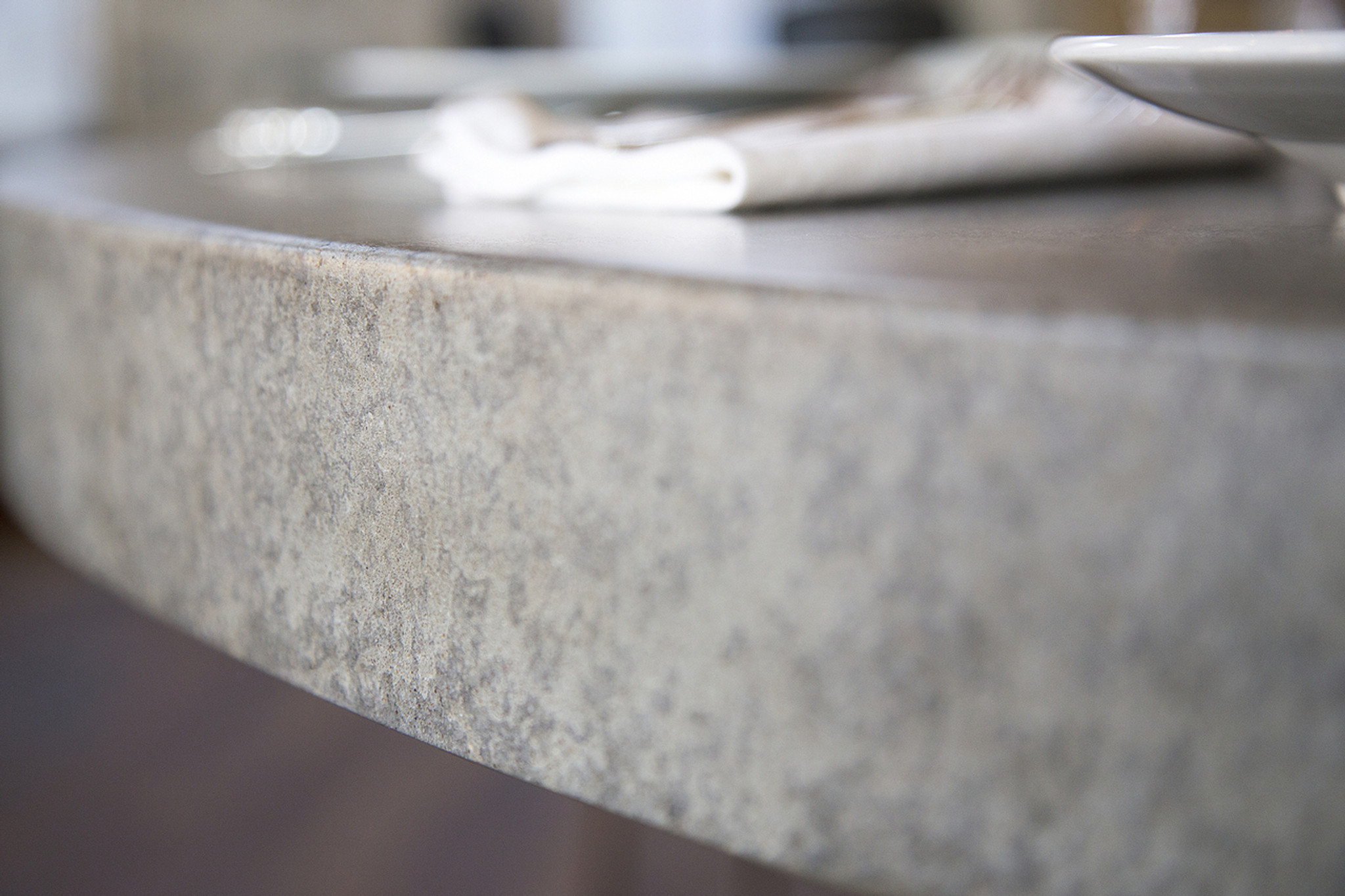custom lightweight concrete top